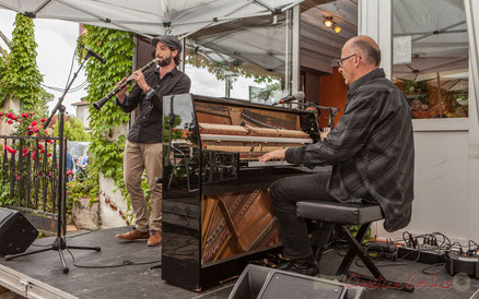 Louisiana Jazz Duo, restaurant les Acacias, Cénac. Festival JAZZ360 2016. Photographie : Christian Coulais