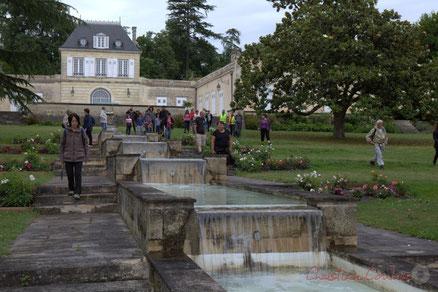 Randonnée pédestre JAZZ, Château Duplessy, de Cénac à Quinsac. Festival JAZZ360 2015. Photographie : Christian Coulais