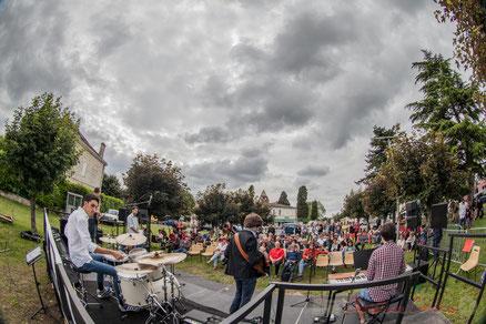 Atelier Jazz du Conservatoire régional de musique Jacques Thibaud, dirigé par Julien Dubois, Cénac. Festival JAZZ360 2016. Photographie : Christian Coulais
