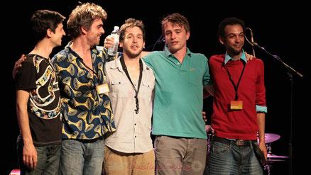 Festival JAZZ360 2013, Edmond Bilal Band, salle culturelle de Cénac. Photographie : Christian Coulais