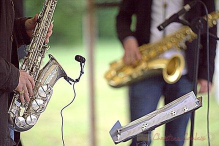 Festival JAZZ360 2012, Naxee Quintet, Quinsac. Photographie : Christian Coulais