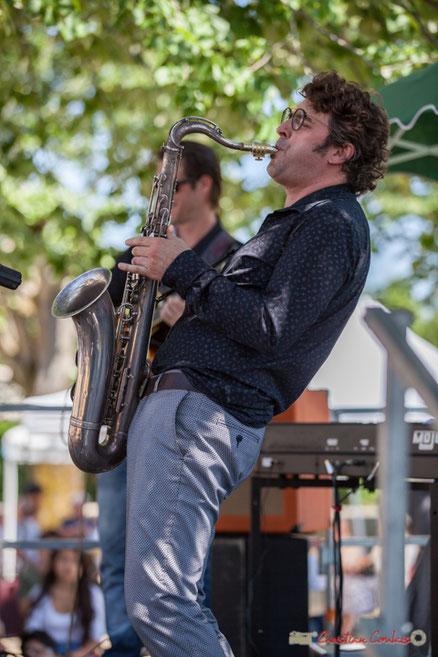 Jean Vernhères, axophoniste; Soul Jazz Rebels, Festival JAZZ360, Camblanes-et-Meynac