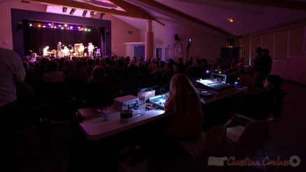 Festival JAZZ360 2013, les Métropolitains, salle culturelle de Cénac. Photographie : Christian Coulais