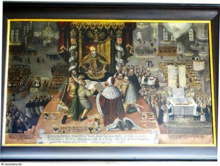 Konfessionsbild, St. Johannis, Schweinfurt
