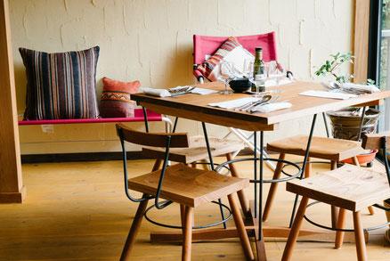 無垢のテーブル 木のテーブル