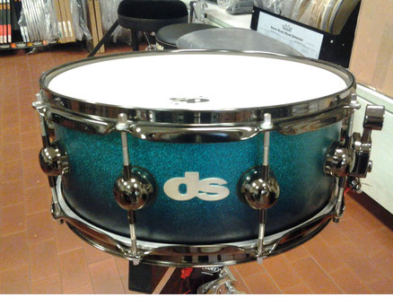 "Equalized Series - Azure Fade Sparkle - holz: Ahorn - 14""x5,5"""