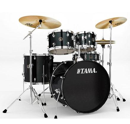 """Rhythm Mate Series - BS - holz: Pappel - inkl. hardware und becken - 20"""" / 10"""" / 12"""" / 14"""" / 14""""x5"""""""