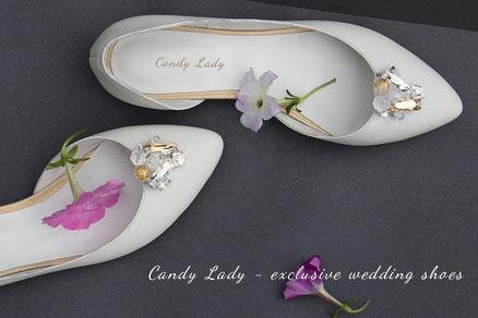 свадебные балетки с камнями стразами сваровски купить пошить киев туфли