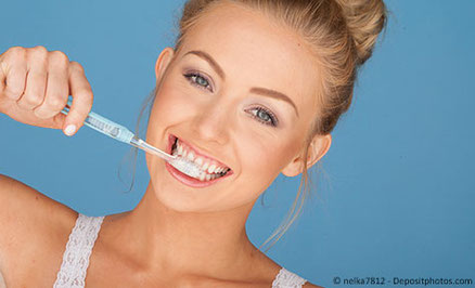 Auf die richtige Technik kommt es an - auch beim Zähne putzen