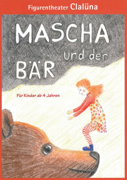Mascha und der Bär Flyer