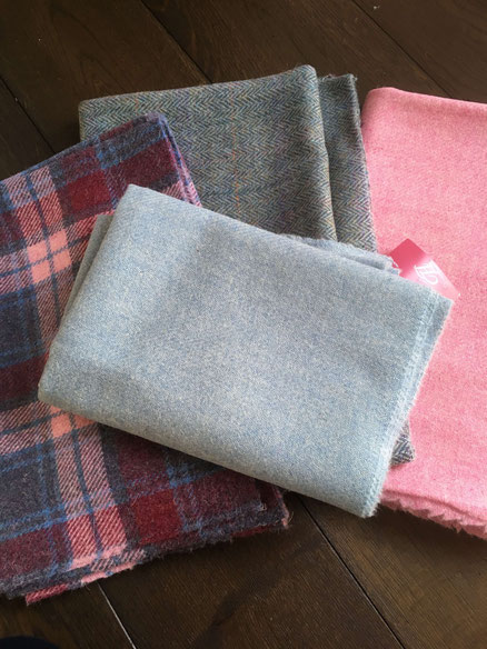 My purchases from Harris Tweed Hebrides