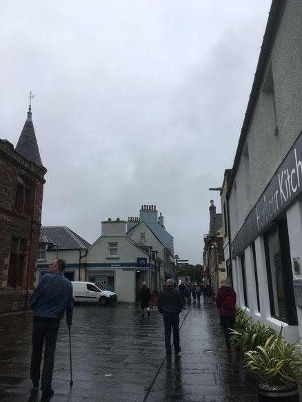 Ein regnerischer Ausflug nach Stornoway