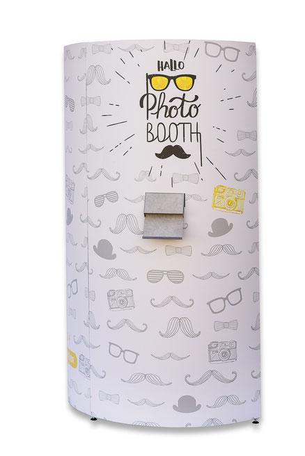 Hallophotobooth in duesseldorf photobooth fotobox fotokabine videobox videobooth hochzeit event entertainment betriebsfeier spass party säule