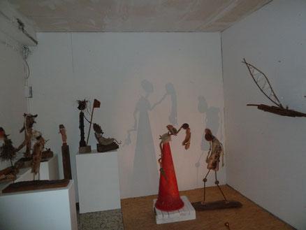 Plastiken von Solvej Krüger