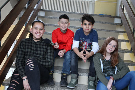 Emilie, Amy, Emre & Alexej