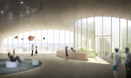 Besucherzentrum Hohe Geba Thüringen 2018 3. Preis Herr & Schnell Architekten Hamburg