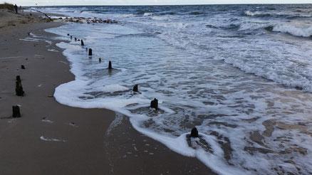 Ein Tag am Strand, Urlaub im Bauwagen, West-Prignitz