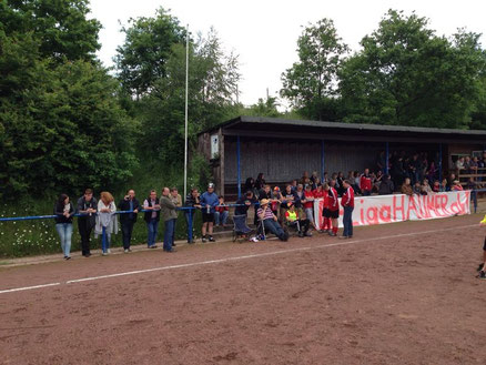 Allendorfer Fans on Tour - hier Endorf