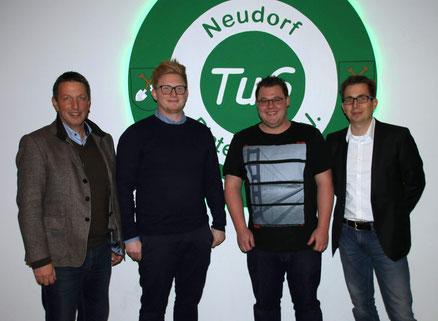 v.l. René Hagemann, Christoph Schuster, Eike Schwager, Maik Wulfes