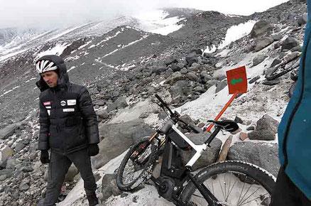 експедиция електрическо колело чили
