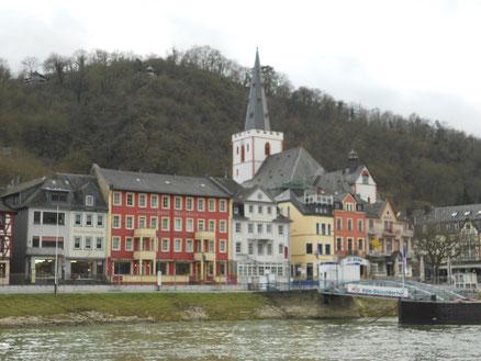 In St. Goarshausen treffen wir uns am liebsten.