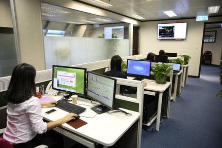 Ein vitales Büro mit Qi Quant