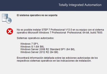 instalación TIA Portal V13