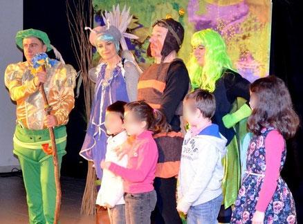 troupe de théâtre LES GUIGNOLOS - spectacle jeunesse Mé kékidi ? - saison 2014/2015 - www.lesguignolos.fr