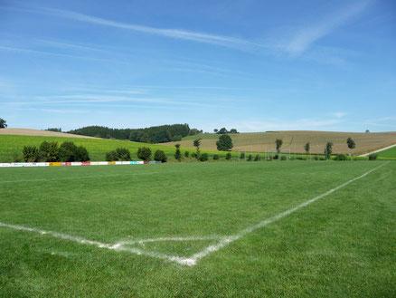 Fußballplatz TSV Karpfham