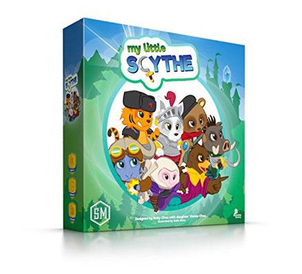 My Little Scythe, ein famielientaugliches Scythe für Jedermann (ab 8 Jahren); Bild: Amazon