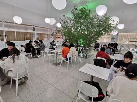 中国大連 遼寧師範大学 学生食堂