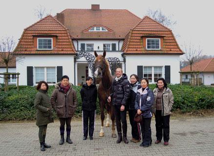 News Jan Treptow Dressurausbildung 2011 Japanische Dressurreiter zu Gast in Bielefeld-Jöllenbeck