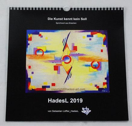 """Kalender 2019"" von Sebastian Löffler_HadesL"
