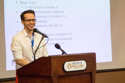 Tim W. bei einem Vortrag in Nashville | Foto: Clusterbusters