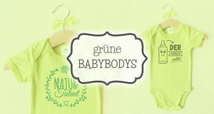 Babybodys grün -nähfein