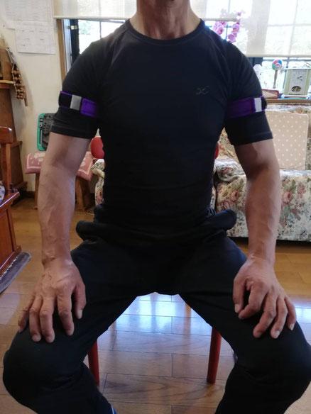 加圧トレーニング ウェイトトレーニング