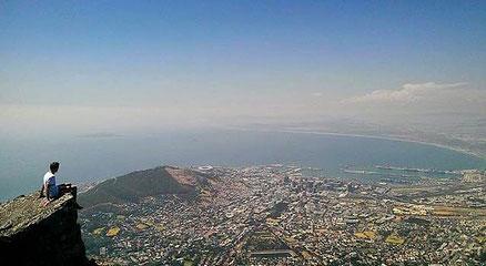 Florian - allein in Kapstadt unterwegs.