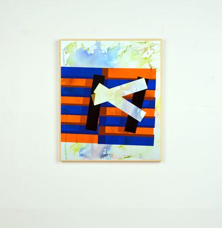 Rythme n°85, dim. 51,50 cm x 43 cm, 2020