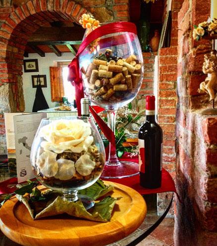 Sala di degustazione. Agricola Tamburini. Firenze, Toscana. Itinerari di VINO. Foto blog Etesiaca