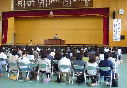 福島県立郡山北工業高等学校PTA総会講演