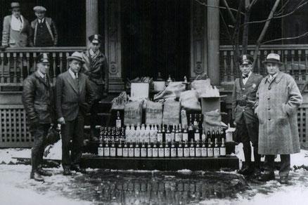 Coctelería clásica durante la era de la prohibición