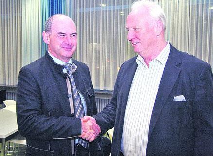 Josef Hurnaus und Jürgen Zenkel