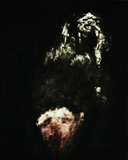 Convenerunt in unum, Acryl auf Hartfaser, 50x40, 2015