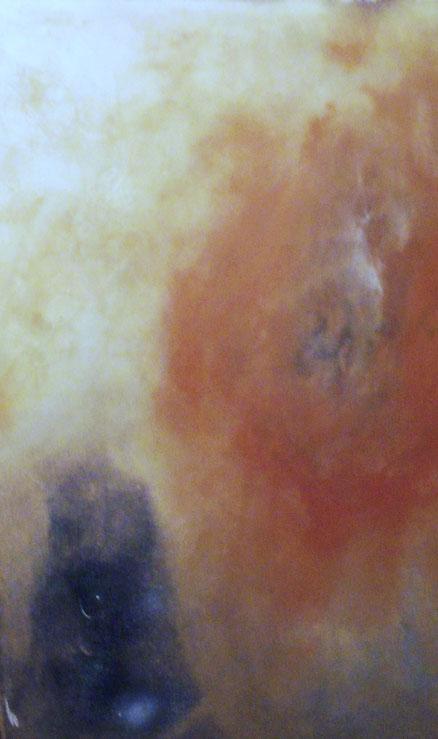 Ödipus und die Sphinx, Acryl auf Leinwand, 80x50, 2011
