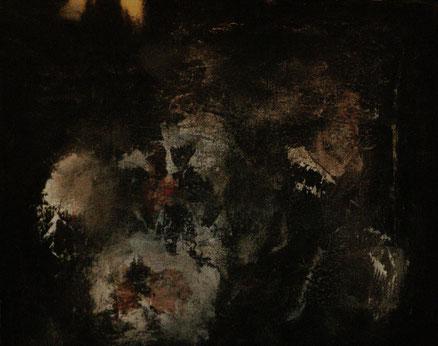 Letztes Licht, Acryl auf Leinwand, 50x70, 2012