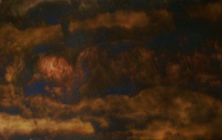 Traum der Gioconda, Acryl auf Leinwand, 80x150, 2017