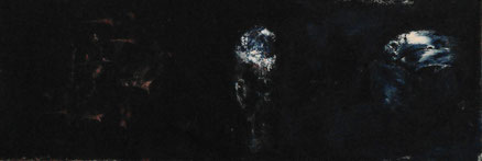 Montaigne, Acryl auf Hartfaser, 35x98, 2013