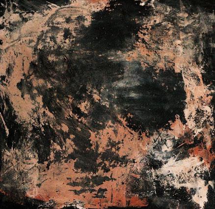 Abdul Alhazred, Acryl auf Hartfaser, 60x60, 2013