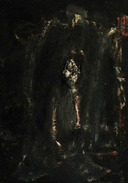 Skizzophrenie, Acryl auf Leinwand, 80x60, 2013