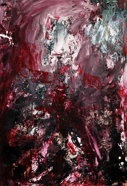 Popamok, Acryl auf Holz, 60x40, 2013